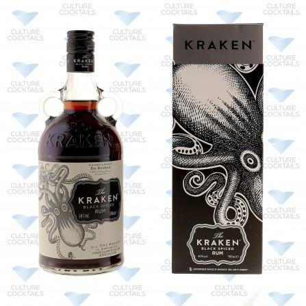 The Kraken Black Spiced 40° Etui