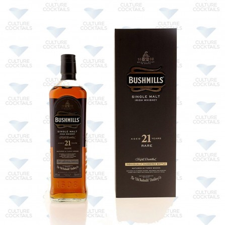 BUSHMILLS SINGLE MALT 21 ANS MADEIRA