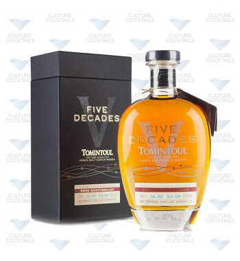 Tomintoul Five Decades Speyside Glenlivet