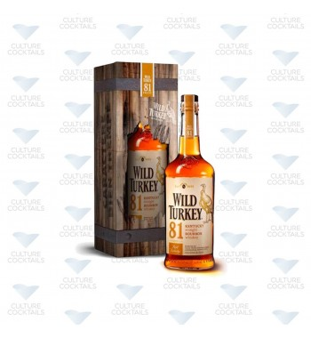 Wild Turkey 81 Bourbon Boite Metal