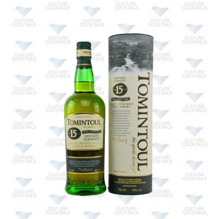 TOMINTOUL 15 ANS PEATY TANG
