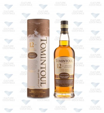 TOMINTOUL 12 ANS OLOROSO SHERRY CASK FINISH